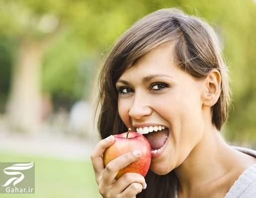 eating apple کاهش کلسترول خون با سیب