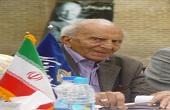 پیکر پدر جغرافیای ایران تشییع شد