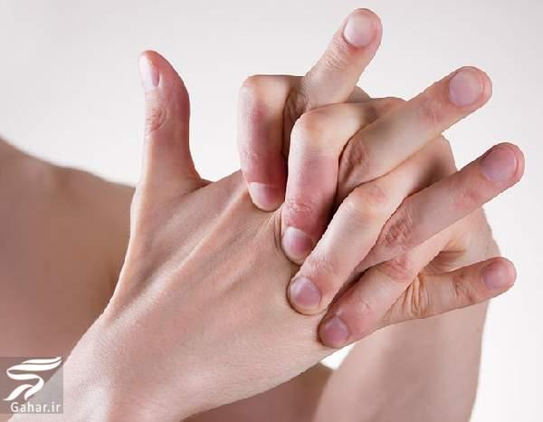 gholenj dast عوارض شکستن قولنج انگشتان دست و پا