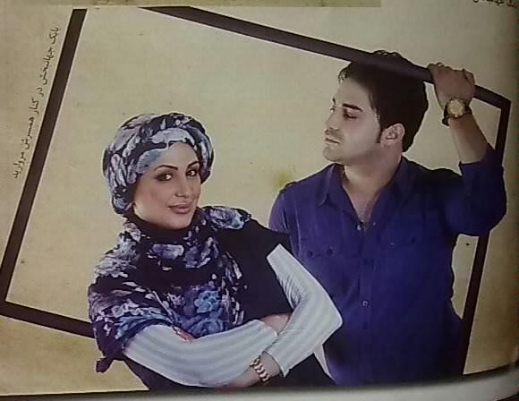 hamsare jahanbakhsh بابک جهانبخش و همسرش + عکس