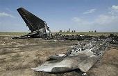 سقوط یک فروند هواپیما در قزوین + عکس ها