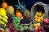 خواص میوه ها با توجه به رنگ شان!!