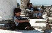 سیداحمد خمینی و فرزندش در لبنان + عکس