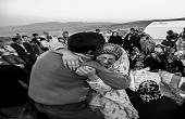 پدران و مادران داغ دیده زلزله آذربایجان + تصاویر