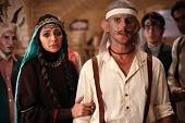ظاهر عجیب و غریب امین حیایی و بازیگران مشهور در فیلمی عجیب