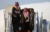 پسر پادشاه عربستان وارد تهران شد / تصاویر