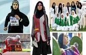 برهنه شدن زنان مخالف حجاب/ تصاویر