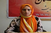 زن مسیحی که مسلمان شد + عکس