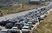 ترافیک عجیب و سنگین در محور هراز / عکس
