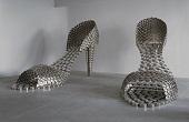 کفش زنانه ساخته شده با قابلمه! /عکس
