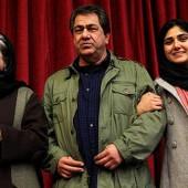 باران کوثری در کنار پدر و مادرش/عکس