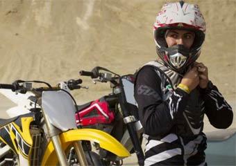 iran women motorcross race موتورسواري بانوان مجاز شد
