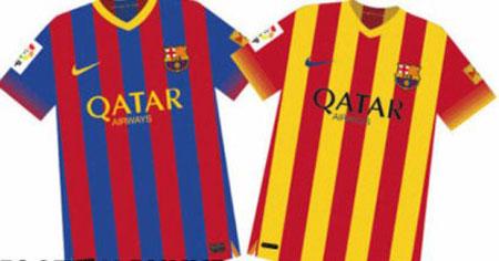 پیراهن جدید بارسلونا / عکس, جدید 1400 -گهر