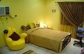 ایده های جالب برای دکوراسیون اتاق نشیمن به رنگ زرد