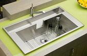 دکوراسیون سینک ظرفشویی آشپزخانه/عکس