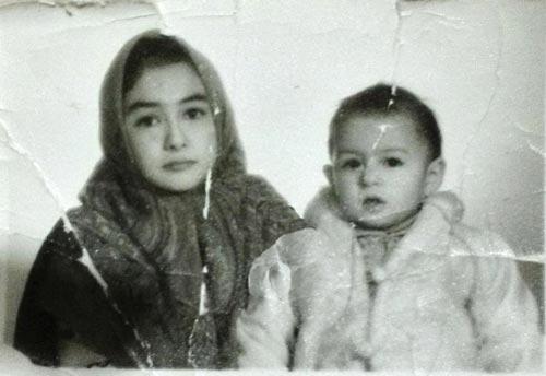 142759 295 هانیه توسلی در نوجوانی/عکس