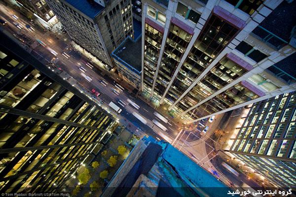 Photograph skyscraper 1 عکاسی از بالای بلندترین آسمان خراش های جهان