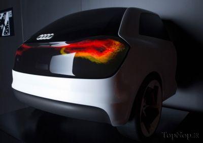 QvIzaNxzzB نسل اینده چراغ های اتومبیل