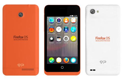 geeksphone موزیلا گوشی مجهز به سیستم عامل فایرفاکس را معرفی کرد