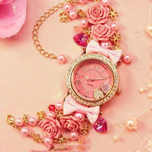 1457 مدل ساعت مچی دخترانه 2013