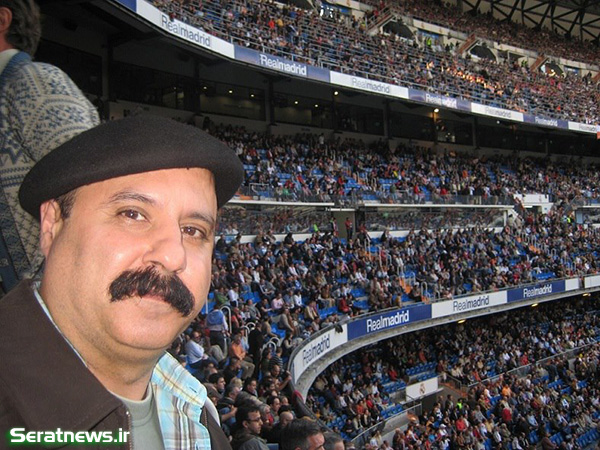 49927 339 سهیل محمودی در ورزشگاه سانتیاگو برنابئو +عکس