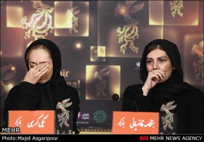 934327 orig نیکی کریمی با چهره غمگین در جشنواره/عکس