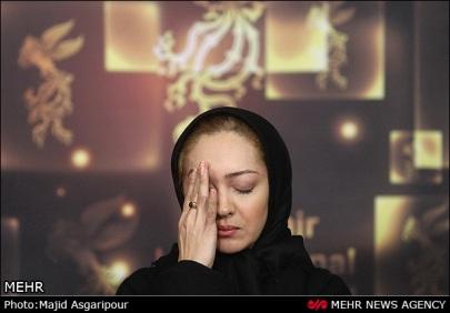 934328 orig نیکی کریمی با چهره غمگین در جشنواره/عکس