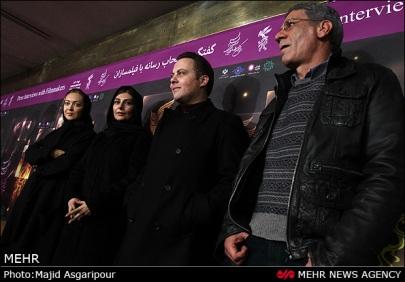 934331 orig نیکی کریمی با چهره غمگین در جشنواره/عکس