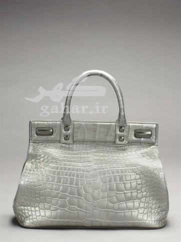 Donna Karan handbags grey animal print img 9 362x483 مدل کیف زنانه 2013