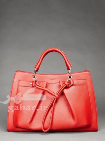 Donna Karan handbags red color img 10 362x483 مدل کیف زنانه 2013