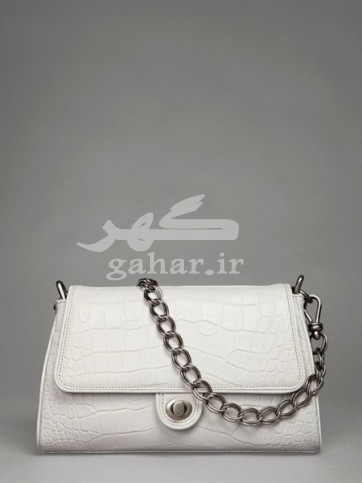 Donna Karan handbags white with chain img 5 362x483 مدل کیف زنانه 2013