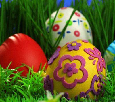 hou3694 مدل تزیین تخم مرغ سفره هفت سین 92