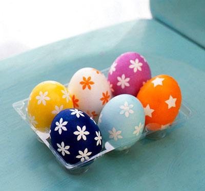 hou3700 مدل تزیین تخم مرغ سفره هفت سین 92