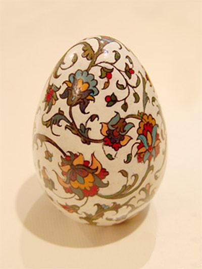hou3701 مدل تزیین تخم مرغ سفره هفت سین 92