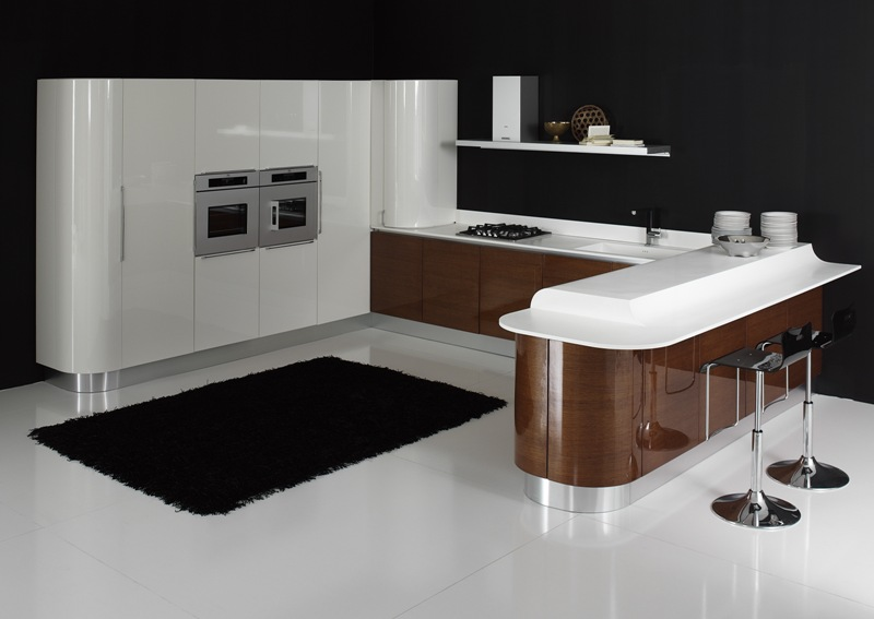modern kitchen cabinets Volare 5 مدل کابینت و طراحی داخلی آشپزخانه 2013