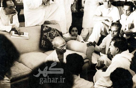 today809619 عکس هایی نادر از مهاتما گاندی