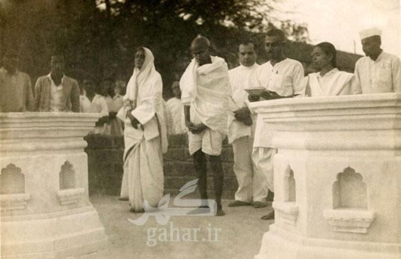 today80966 عکس هایی نادر از مهاتما گاندی