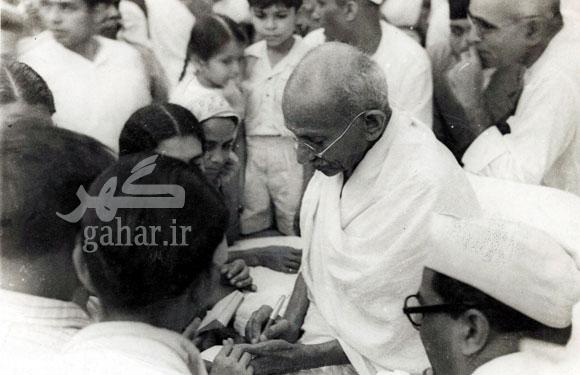 today80969 عکس هایی نادر از مهاتما گاندی
