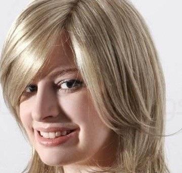 عکس رنگ مو عسلی روشن