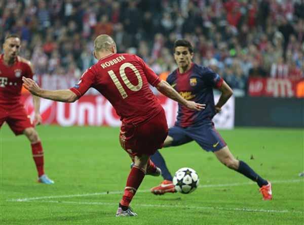 281649 518 بایرن مونیخ 4   بارسلونا 0 /گزارش تصویری