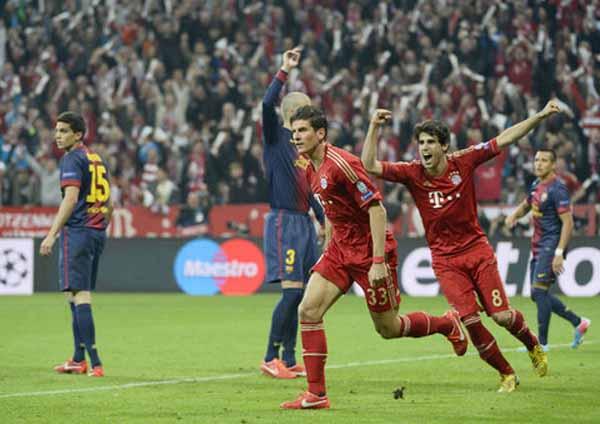 281663 776 بایرن مونیخ 4   بارسلونا 0 /گزارش تصویری