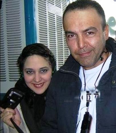 45rcnl104mwwwxlslfq عکس یادگاری فریبرز عرب نیا و زهرا امیرابراهیمی