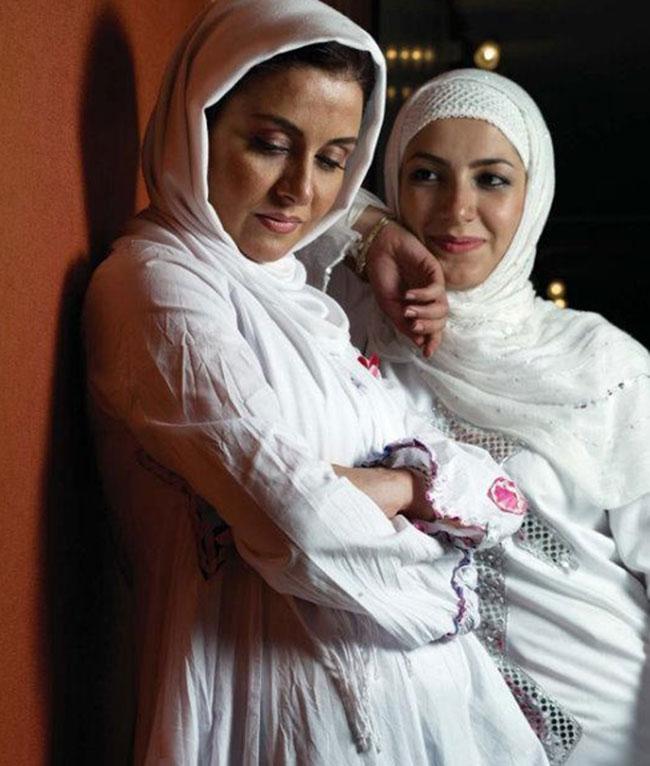 ملیکا زارعی و خواهرش مریلا(خاله شادونه)/عکس, جدید 99 -گهر