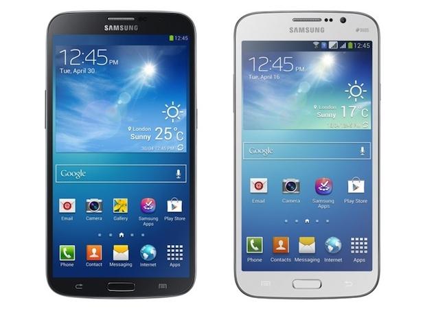 Samsung Galaxy Mega معرفی دو گوشی جدید سامسونگ از خانواده جدید مگا (Mega) /عکس