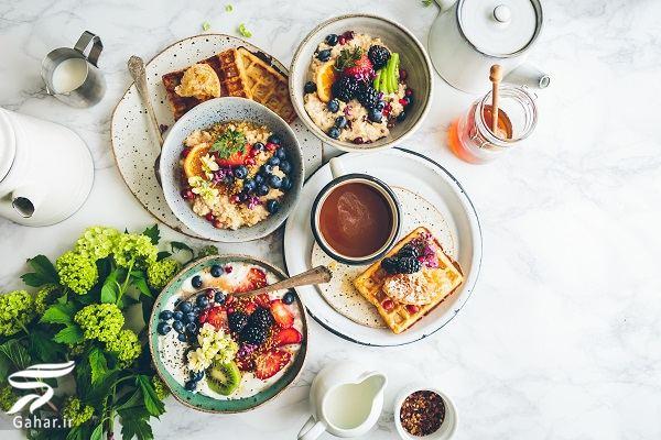 breakfast fruit فواید خوردن میوه در صبحانه