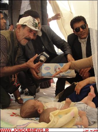 cfd2zx8g697l1s9nmgu دوقلوهای ۲ ماهه در بوشهر از زیر آوار نجات پیدا کردند/عکس