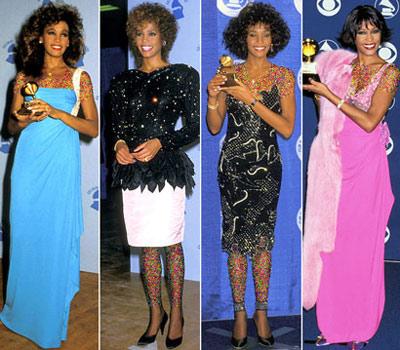 mo7154 مقایسه لباس ستاره های هالیوودی در 4 مراسم GRAMMY/عکس