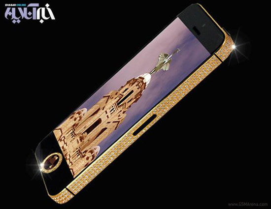 n00210625 r b 000 گرانترین گوشی هوشمند دنیا/عکس