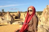 شبنم قلی خانی در استرالیا / عکس