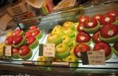 زیباترین میوه فروشی دنیا را ببینید / عکس